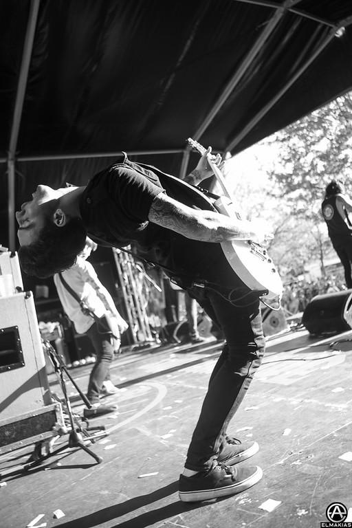 Jack Fowler of Sleeping With Sirens - Slam Dunk Festival - Photo by Adam Elmakias