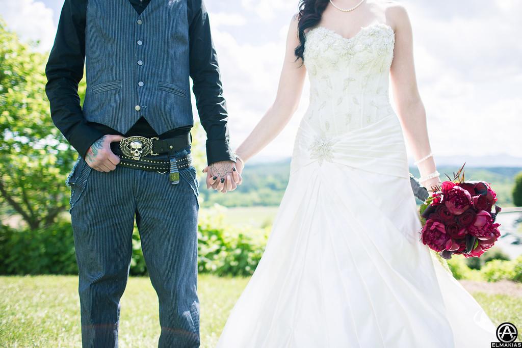 Husband & Wife - Photo by Adam Elmakias