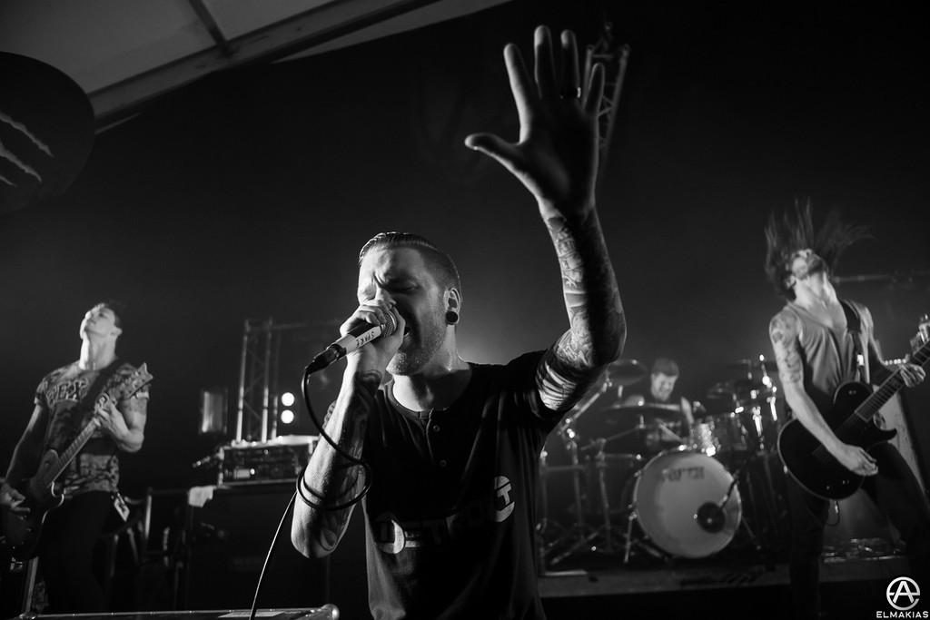 Matty Mullins of Memphis May Fire - Slam Dunk Festival - Photo by Adam Elmakias
