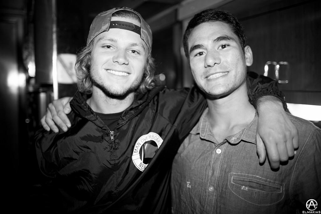 Matt of Tonight Alive and Ryan of The Story So Far
