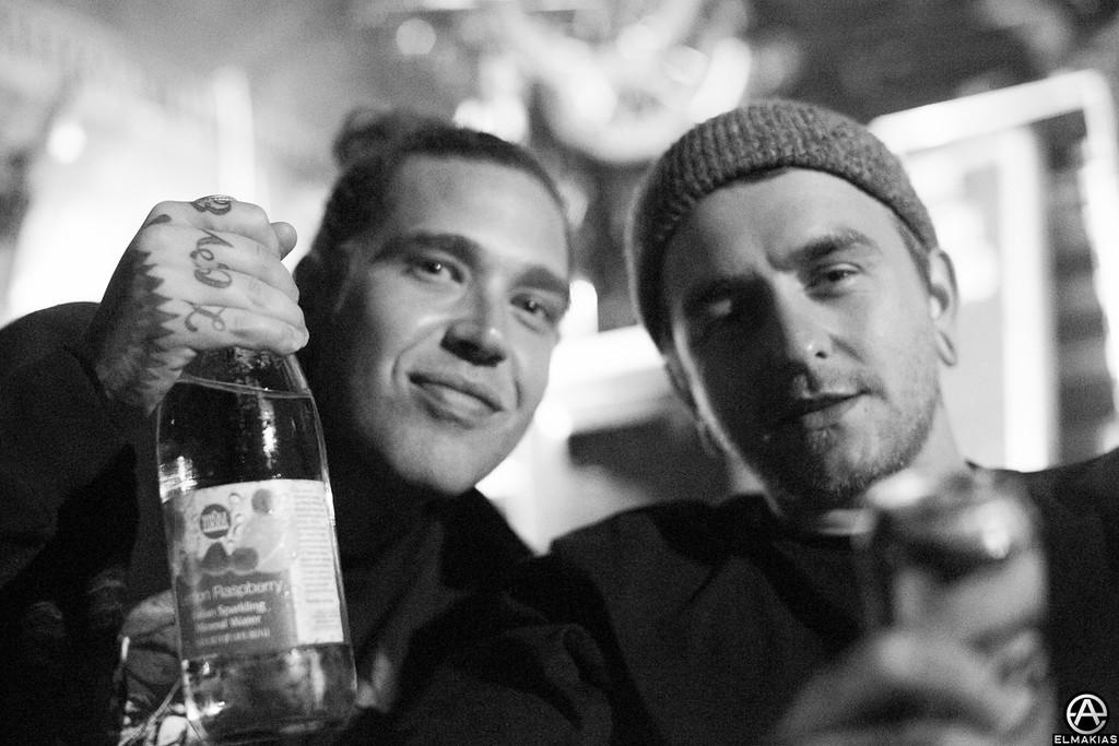 Slim and Matt of Bring Me The Horizon