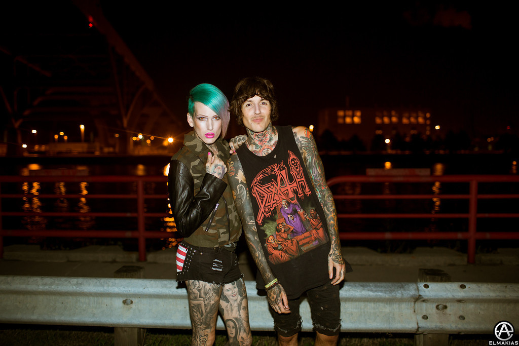 Jeffree Star and Oli Sykes