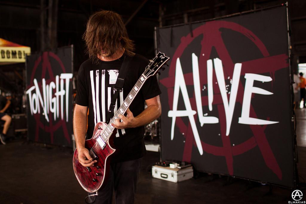 Jake Hardy of Tonight Alive