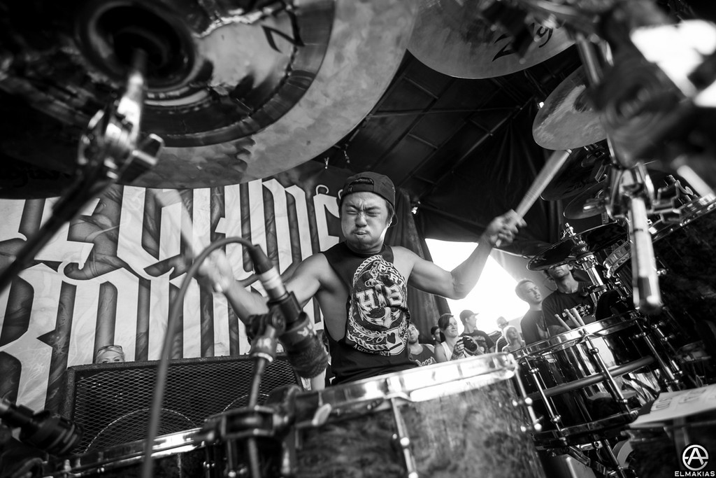 Eric Choi of We Came As Romans