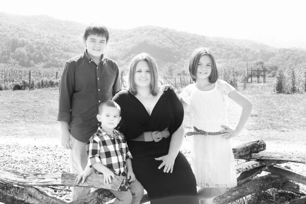 Sheena, Megan and families