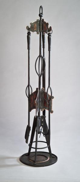 Mica Fireplace Tool Set