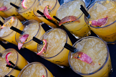 Granadilla cocktail fruit drinks