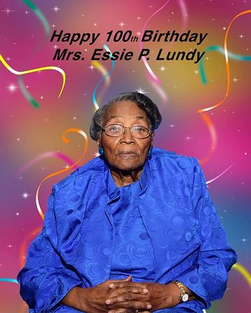 Mrs. Essie Lundy's Birthday Celebration