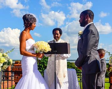 Edwards Mims Wedding Folder
