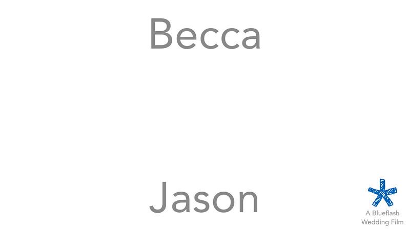 Jason and Becca