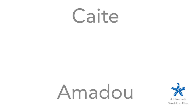 Caite and Amadou