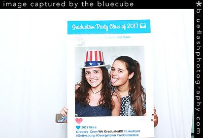 Charlotte, Maddie and Sam Graduation (Bluecube)