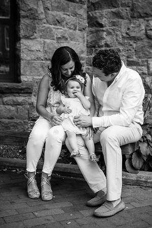 Kristen, Tony, and Charlotte (Family)