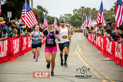Clif Bar Mountains 2 Beach Marathons