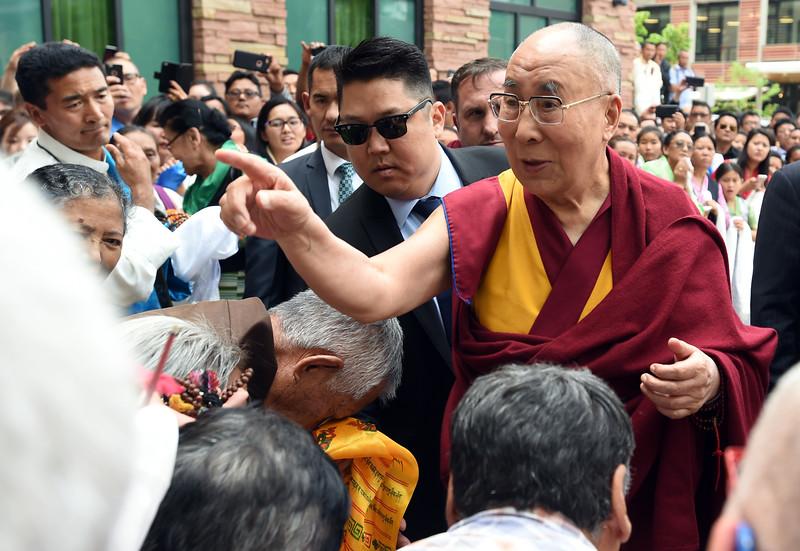 Dalai Lama in Boulder