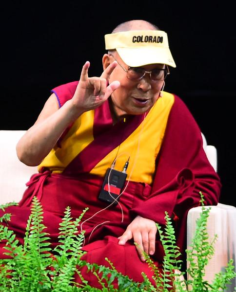 Dalai Lama at the University of Colorado