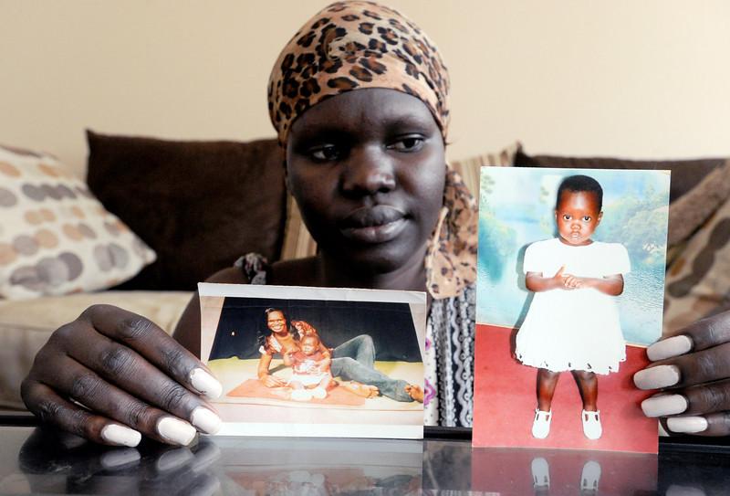 Esther Peter Sudanese Refugee