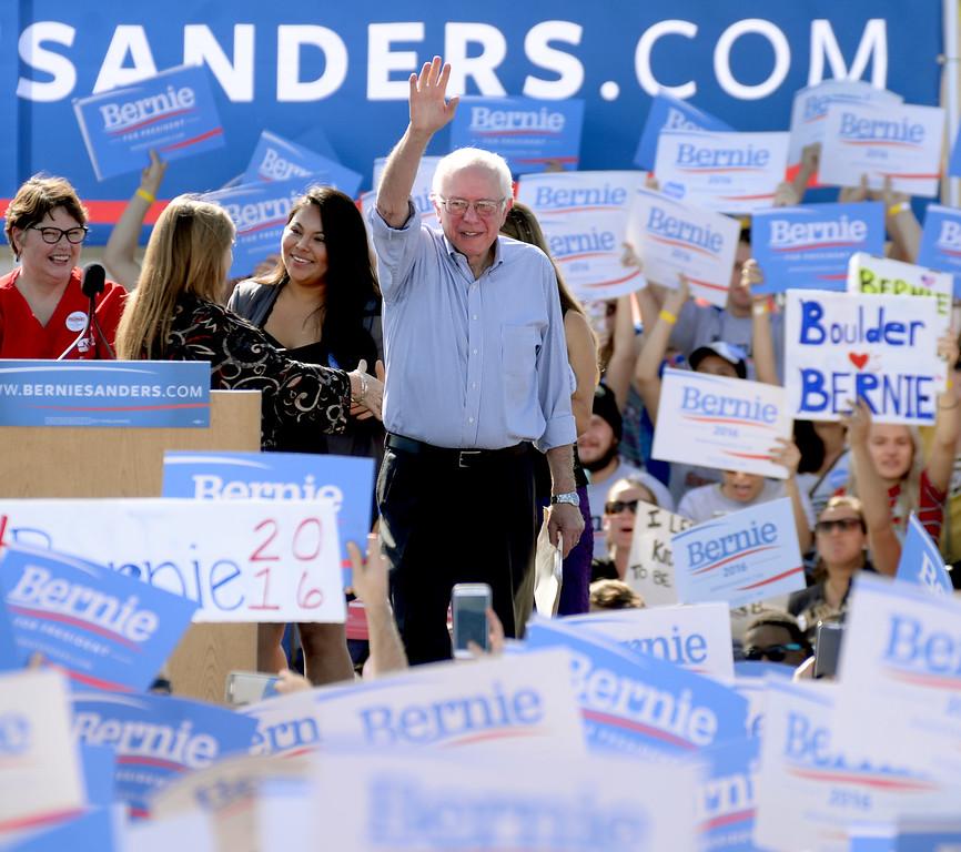 Bernie Sanders at CU