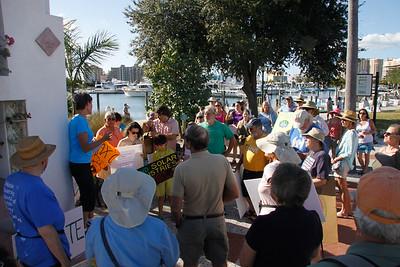 Climate March - Sarasota - Nov 29  2015