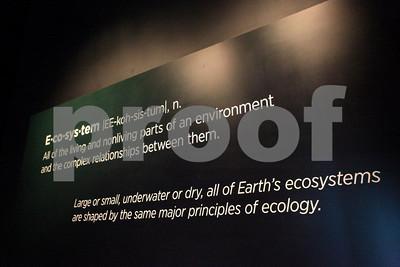 Ecosystem defined, California ScienCenter, Los Angeles, CA