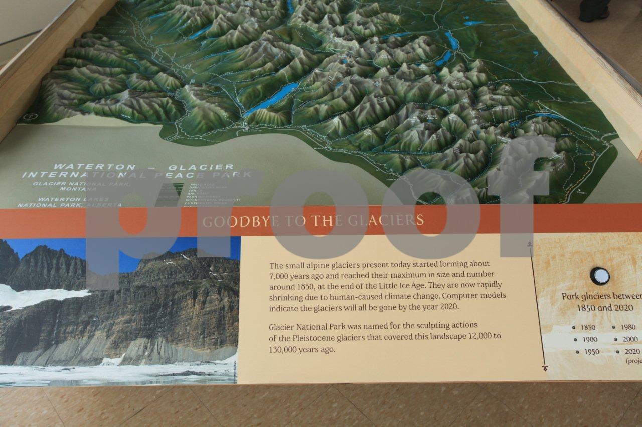 Glacier NP display 4531