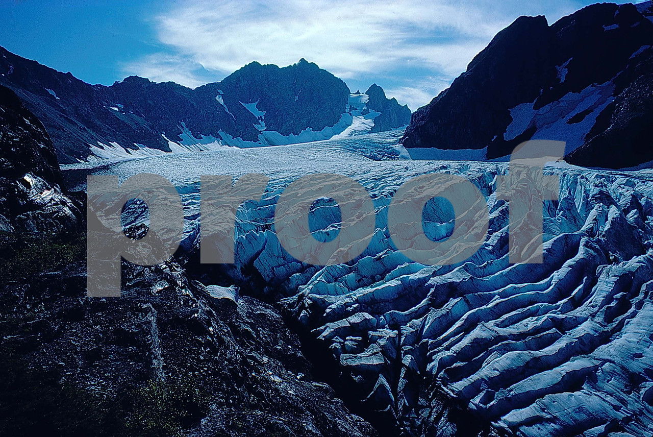 Blue Glacier Mt  O  58 05-3 s