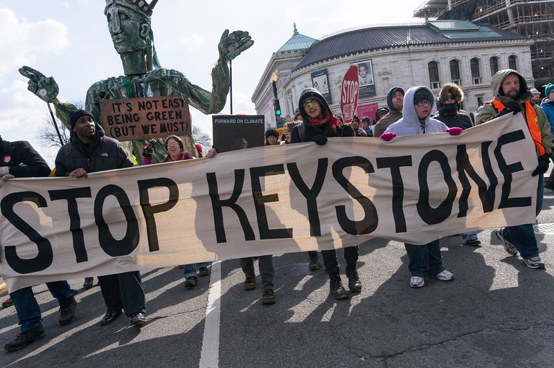 Urging the President to rejejct the Keystone XL pipeline.