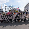 Occupy Wall Street had a lively and large contingent at the Climate Action protest.