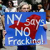 She's right! Polls show a solid majority of New Yorkers oppose fracking.