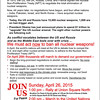 "The BFP flyer promoting the April 26th march to the United Nations. To download or print a copy, go <b> <a href=""http://bit.ly/bfpnpt-mini""target=blank>HERE</b></a>"