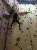 2011-12-15 climbing in Timonium. Photo by our favorite climbing partner Asli Sezen.<br /> 'Oh no - not like that!' ;)