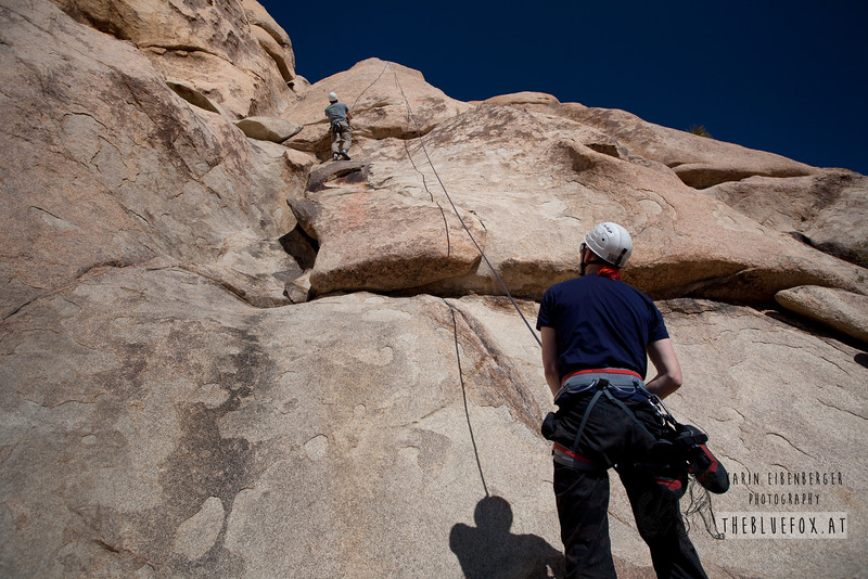 March 2012. Friction climbing in Echo Cove.