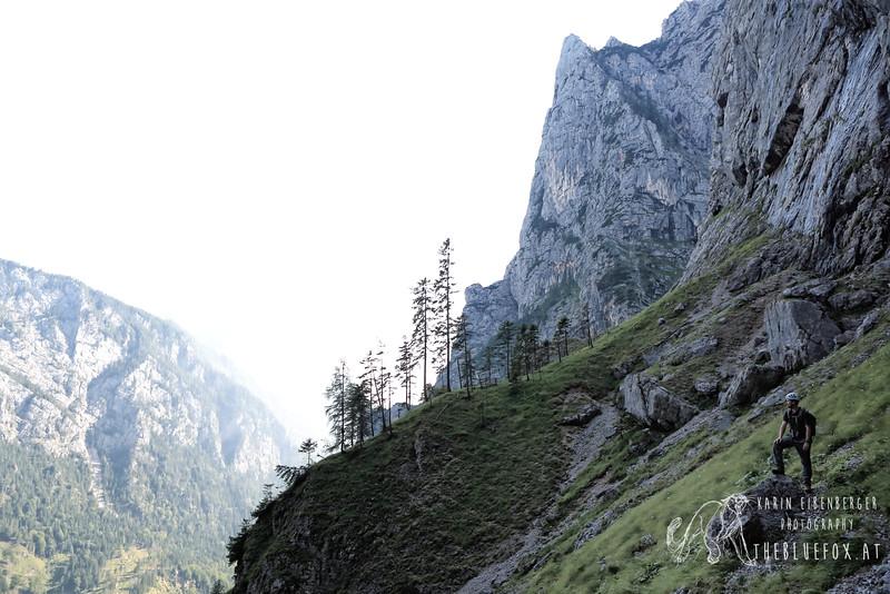 July 2012. Wasserfallweg (Via ferrata).