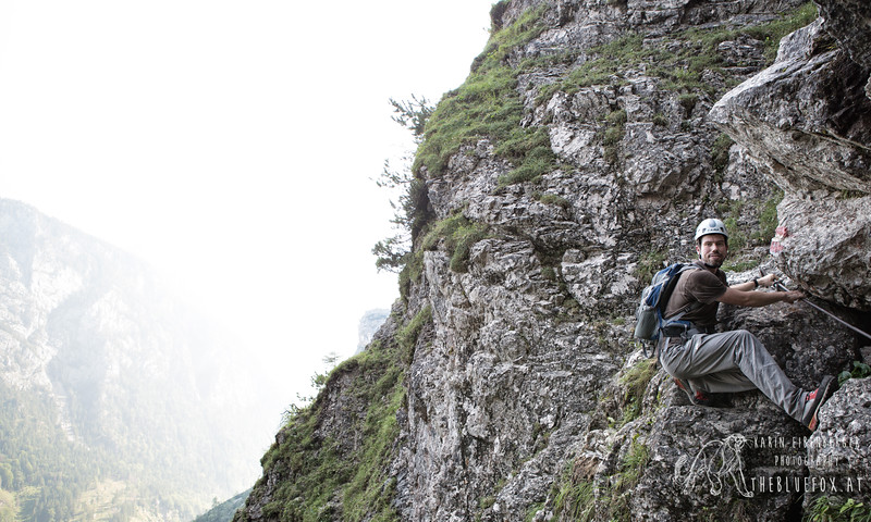 July 2012. Wasserfallweg from Gstatterboden to the Hesshuette and back down to Johnsbach.
