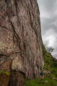 The Tunnel Wall, Glen Coe