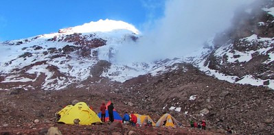 Chimborazo Base Camp