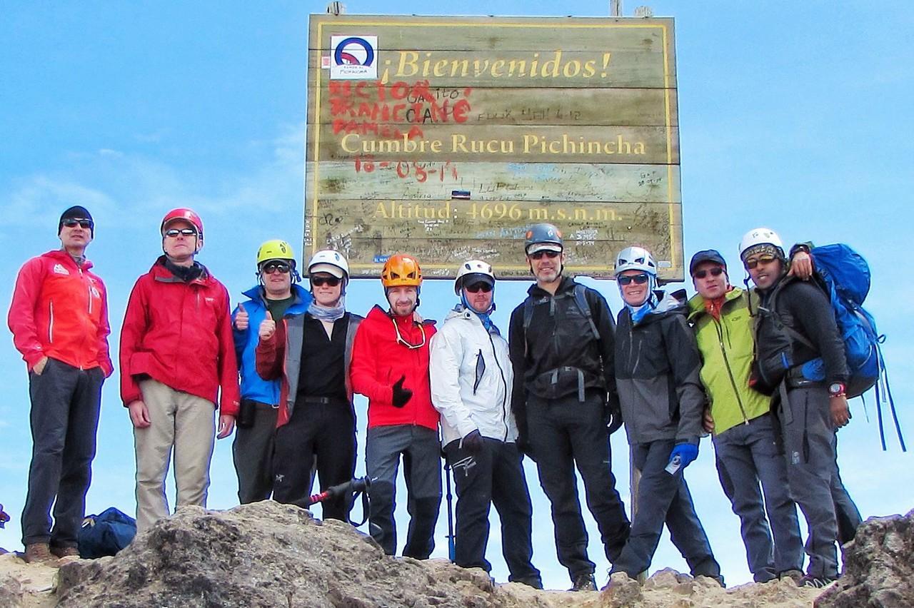 Rucu Pichincha Summit