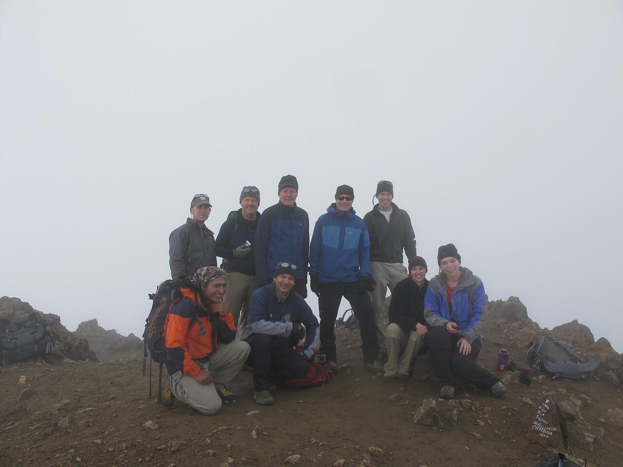 At top of Ruco Pichincha