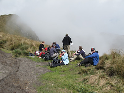 On Acclimatization Hike of Ruco Pichincha