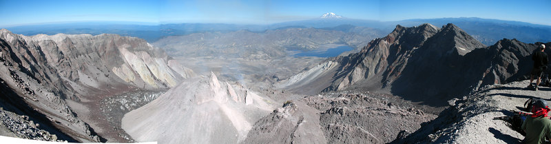 Mt. St. Helens Climb (Guide Pictures)