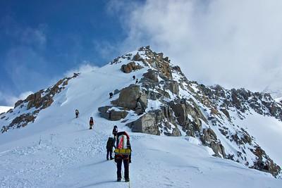 Climbing the 16,000 Ridge