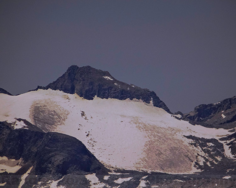 Mount Lyell and the former Lyell Glacier