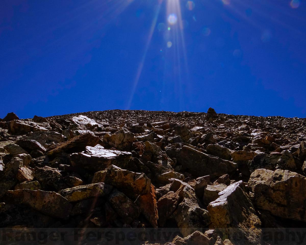 Final Push-Climbing Towards 13,000 ft