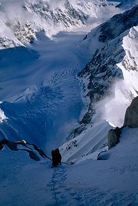 Climbing Denali's Cassin Ridge.