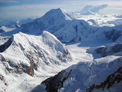 The view from 16,000 feet on the Denali Diamond, on a fantastic afternoon.