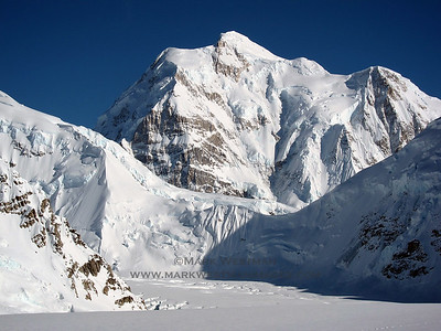The north face of Mount Hunter.