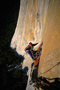 Good times on Pacific Ocean Wall, Yosemite National Park.