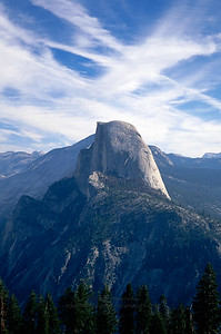 Half Dome from Glacier Point, Yosemite National Park.