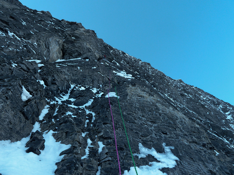 Pitch one of the headwall.