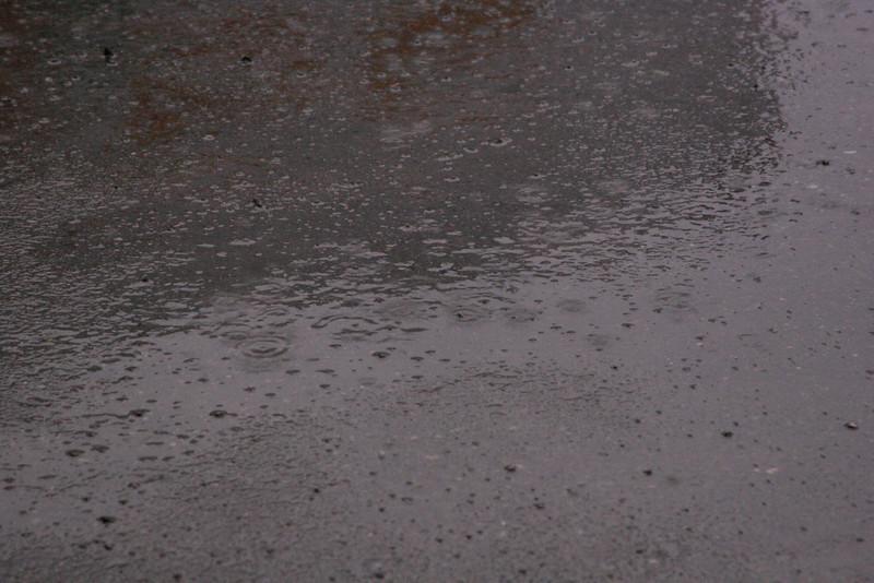 Tut tut, looks like rain.